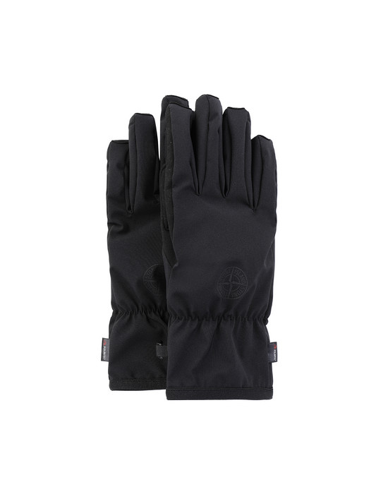 STONE ISLAND 92429 SOFT SHELL-R Gloves Man Black