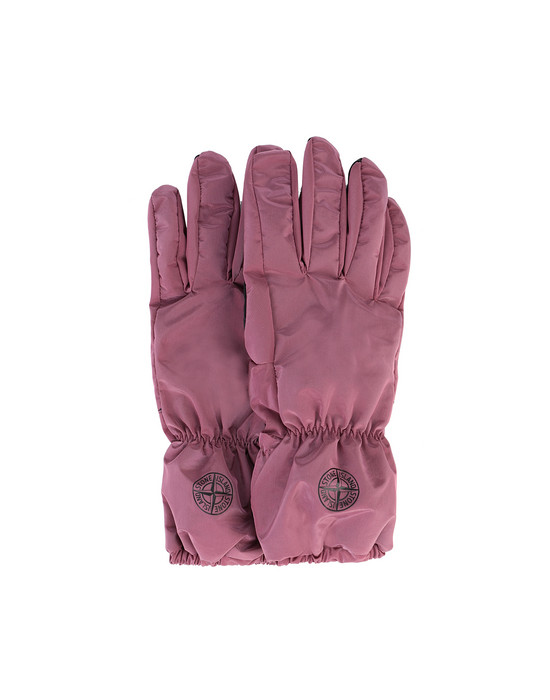 STONE ISLAND 92077 NYLON METAL Gloves Man Cyclamen