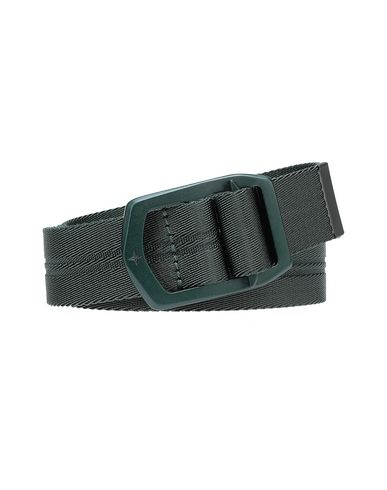 STONE ISLAND 94163 Belt Man Musk Green USD 93