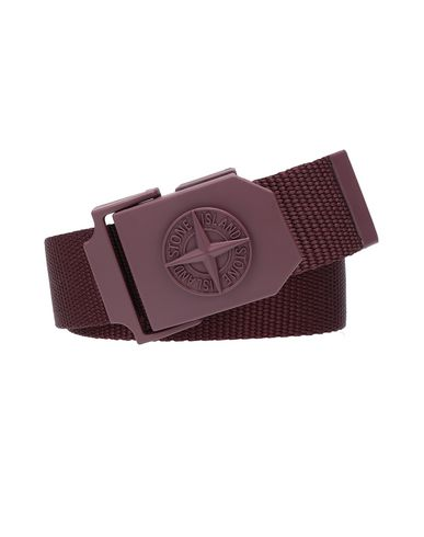 STONE ISLAND 94071 Belt Man Dark Burgundy EUR 124