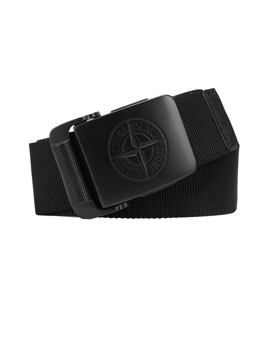 STONE ISLAND 94873 Belt Man Black