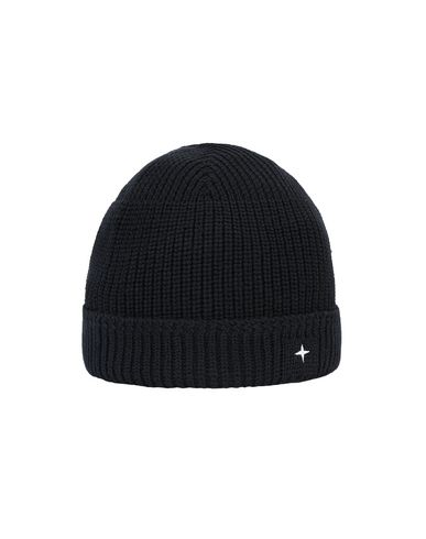 STONE ISLAND N05C3 Hat Man Black USD 142