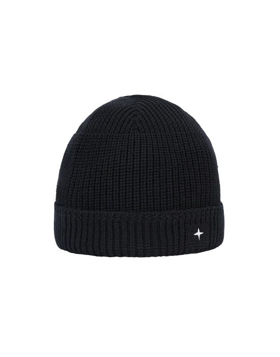 STONE ISLAND N05C3 Hat Man Black
