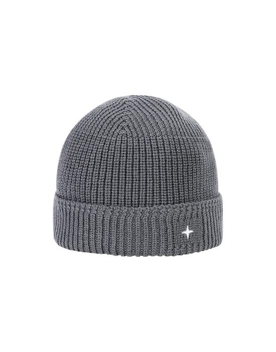 STONE ISLAND N05C3 Hat Man Gray