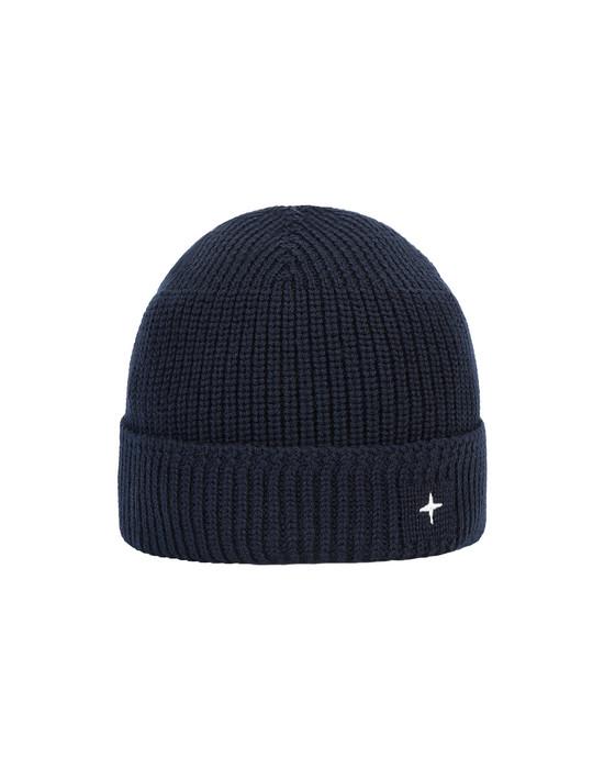 STONE ISLAND N05C3 Hat Man Blue