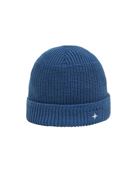 STONE ISLAND N05C3 Hat Man Periwinkle