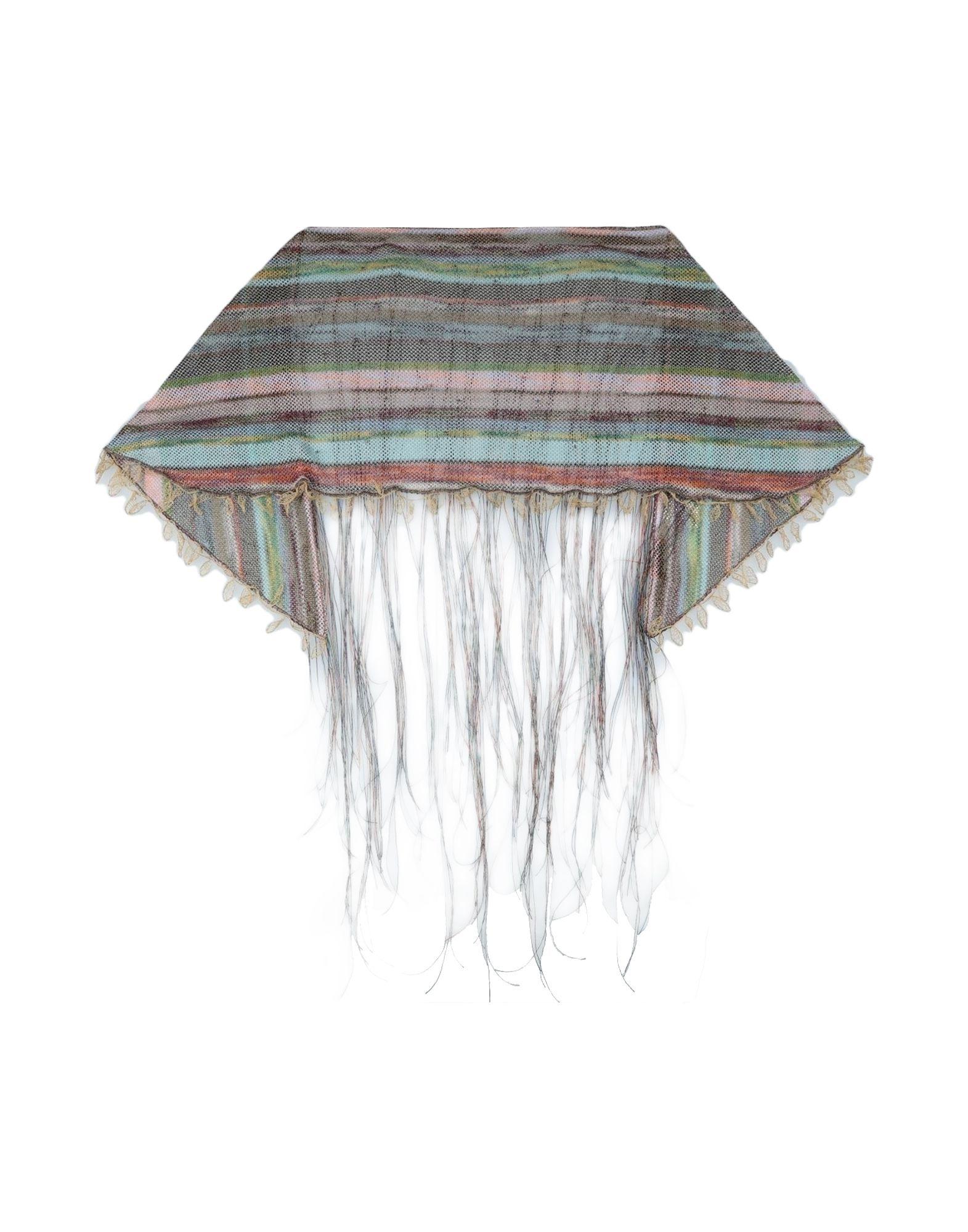 MISSONI Шаль павловопосадская шерстяная шаль с шелковой бахромой волшебный узор 148х148 см
