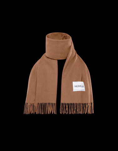 SCARF Brown Category Scarves Man