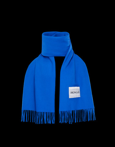 SCARF Bright blue Scarves & Gloves Man