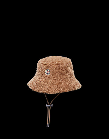 BUCKET HAT Brown Category BEANIES Woman