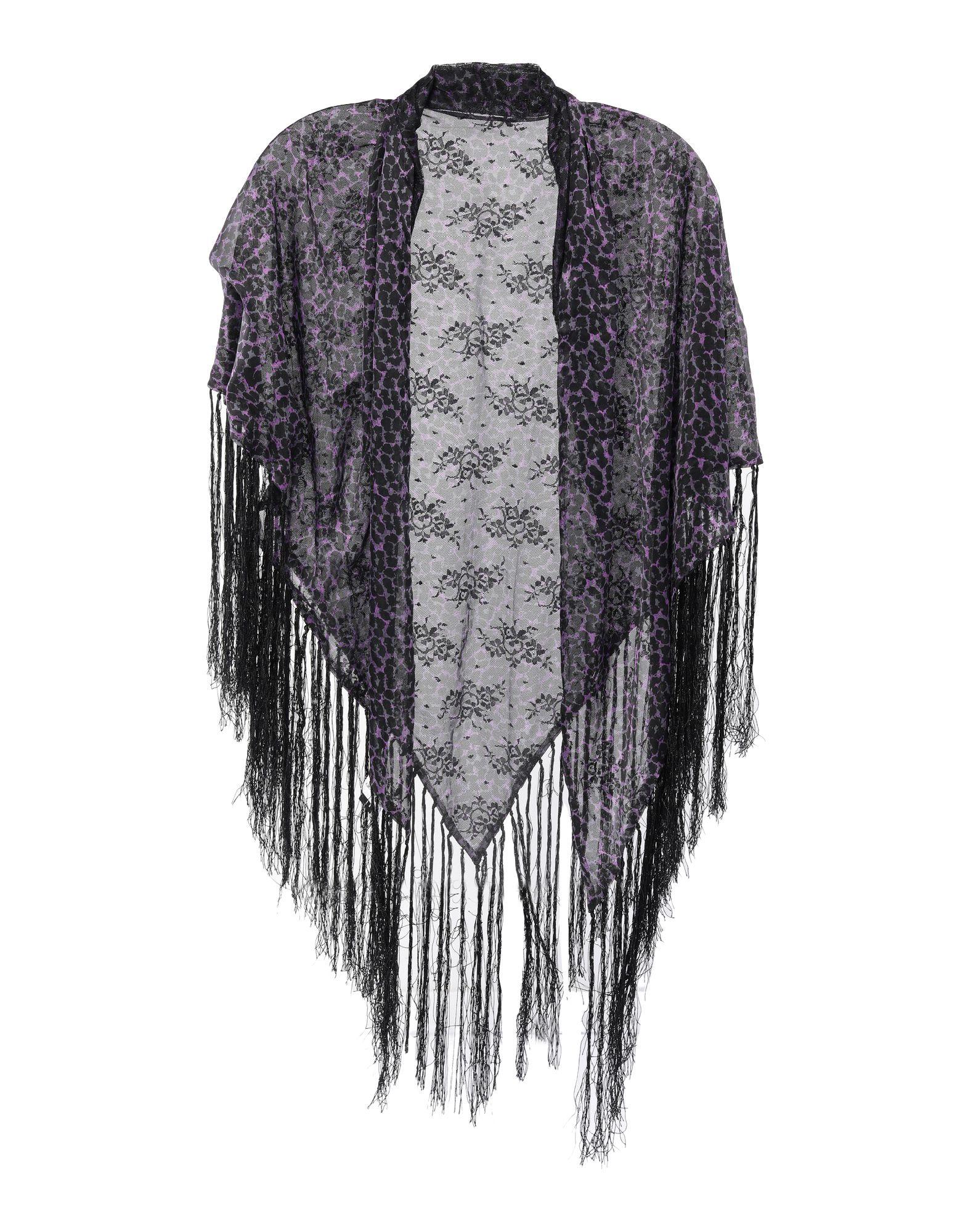 EMPORIO ARMANI Шаль павловопосадская шерстяная шаль с шелковой бахромой волшебный узор 148х148 см