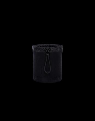 ネックウォーマー ブラック ソフトアクセサリー メンズ