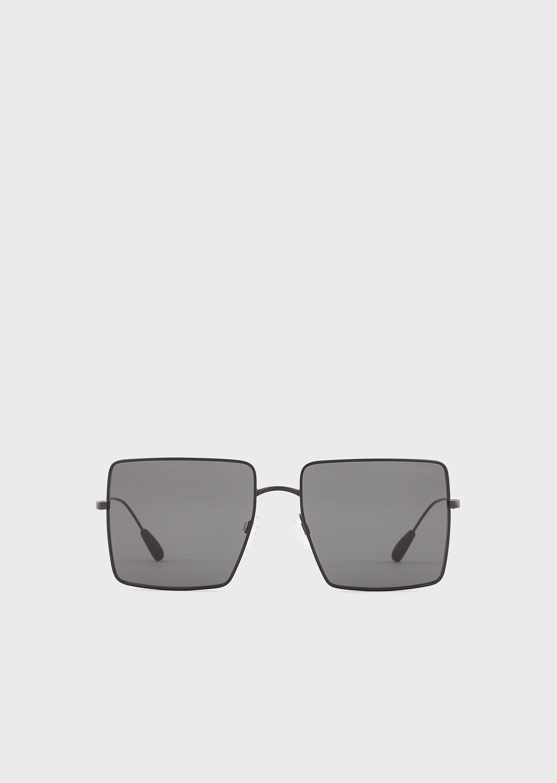 EMPORIO ARMANI Oversize Women's sunglasses
