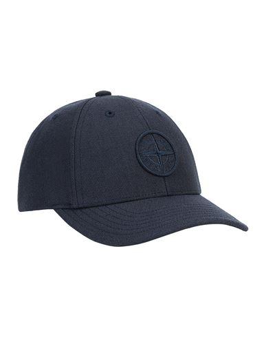 STONE ISLAND BABY 91263 Chapeau Homme Bleu EUR 68