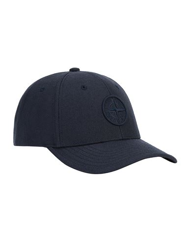 STONE ISLAND JUNIOR 91263 Cap Man Blue EUR 65