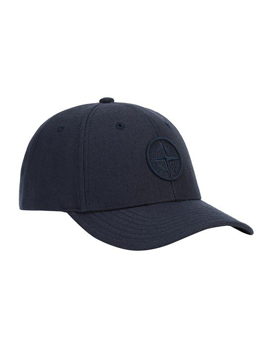 STONE ISLAND JUNIOR 91263 Cap Man Blue