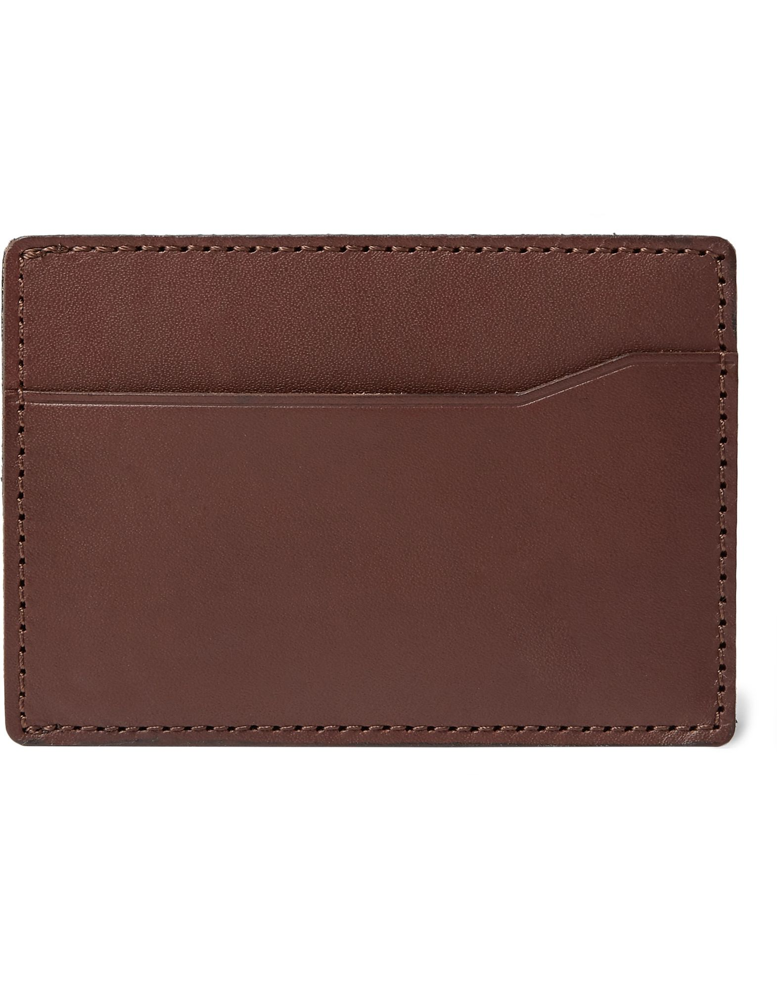 J.CREW Document holders. logo, solid color, external pockets, contains non-textile parts of animal origin. Soft Leather