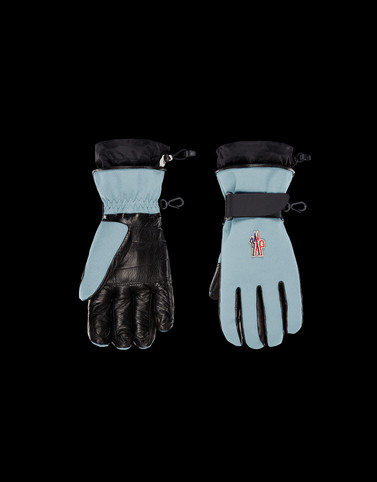 SKI GLOVES Light green Grenoble Scarves & Gloves Woman