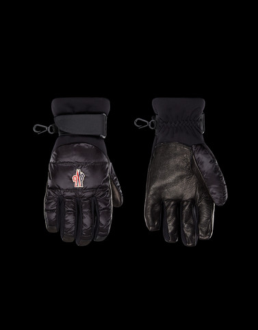 SKI GLOVES Black Grenoble Scarves & Gloves Woman
