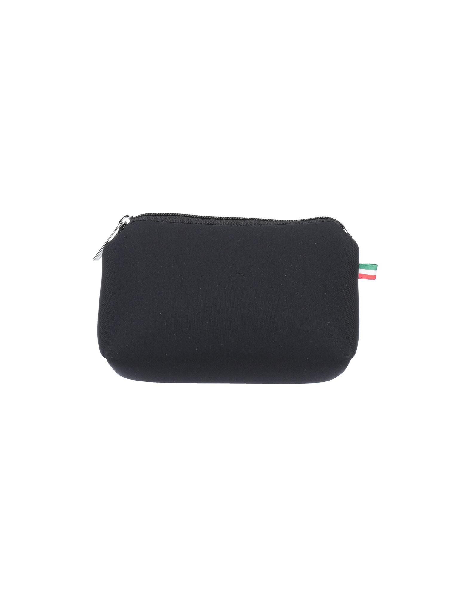《セール開催中》SAVE MY BAG レディース 小銭入れ ブラック ポリエーテル 50% / ポリエステル 40% / ポリウレタン 10%