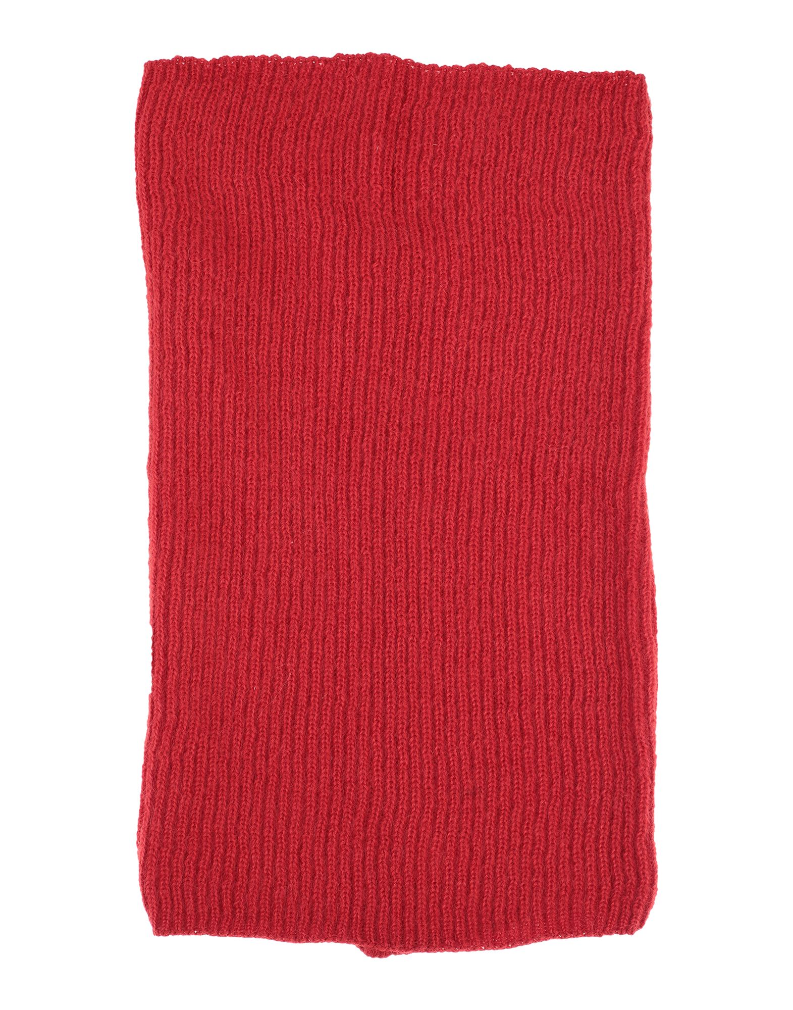 RICK OWENS Collars. knitted, no appliqués, basic solid color. 50% Virgin Wool, 34% Mohair wool, 16% Polyamide