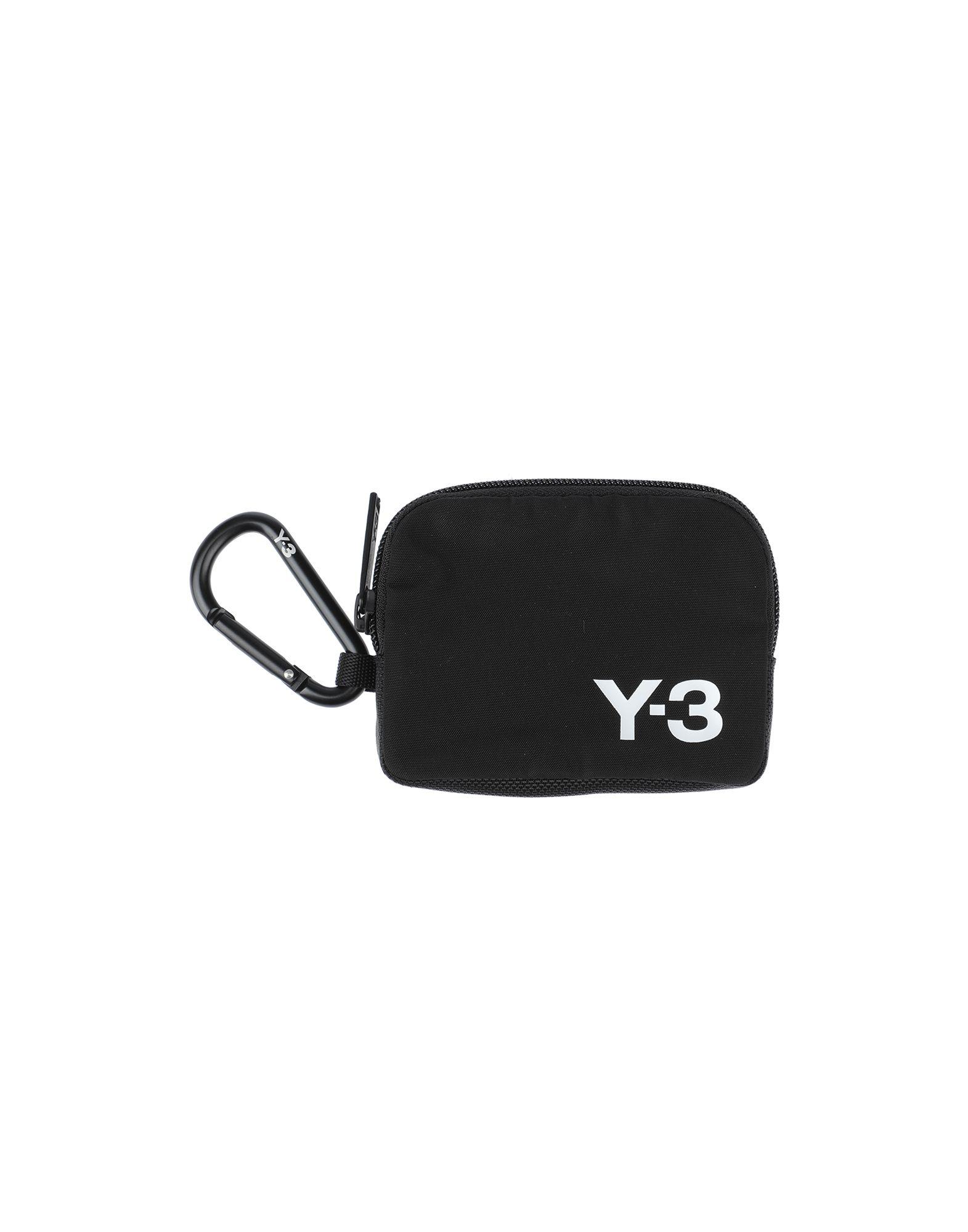 Y-3 ワイスリー メンズ 小銭入れ ブラック