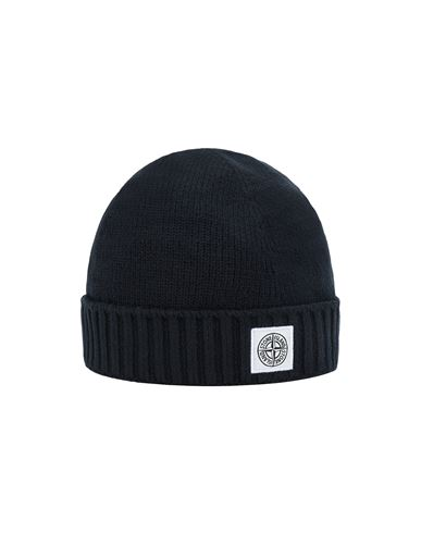 STONE ISLAND JUNIOR N04A9 Hat Man Blue EUR 95
