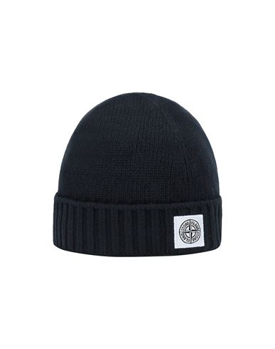 STONE ISLAND KIDS N04A9 Hat Man Blue EUR 63