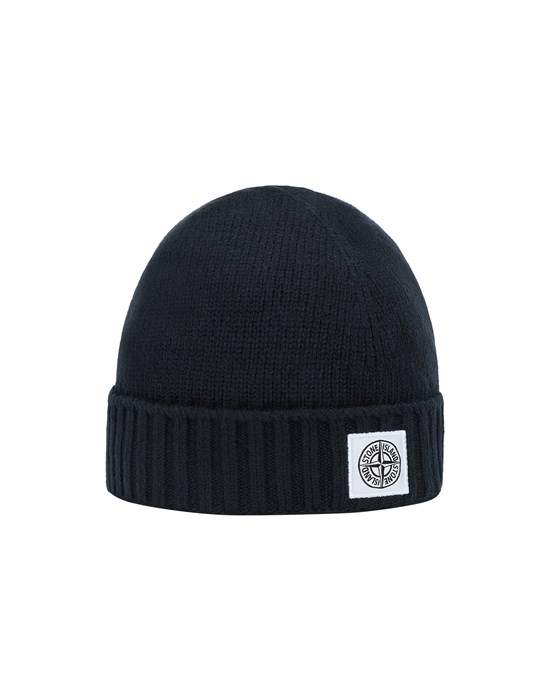 STONE ISLAND JUNIOR N04A9 Hat Man Blue