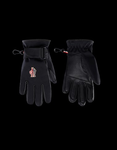 SKI GLOVES Black Category Gloves Woman