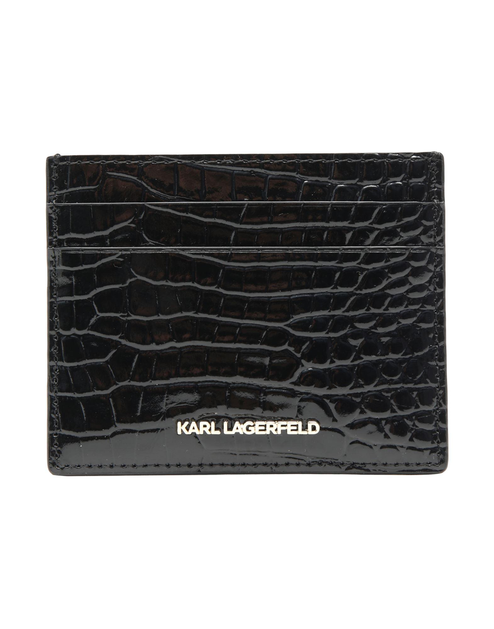 чехлы для телефонов karl lagerfeld чехол lagerfeld для iphone x liquid glitter karl signature hard tpu transp gold KARL LAGERFELD Чехол для документов