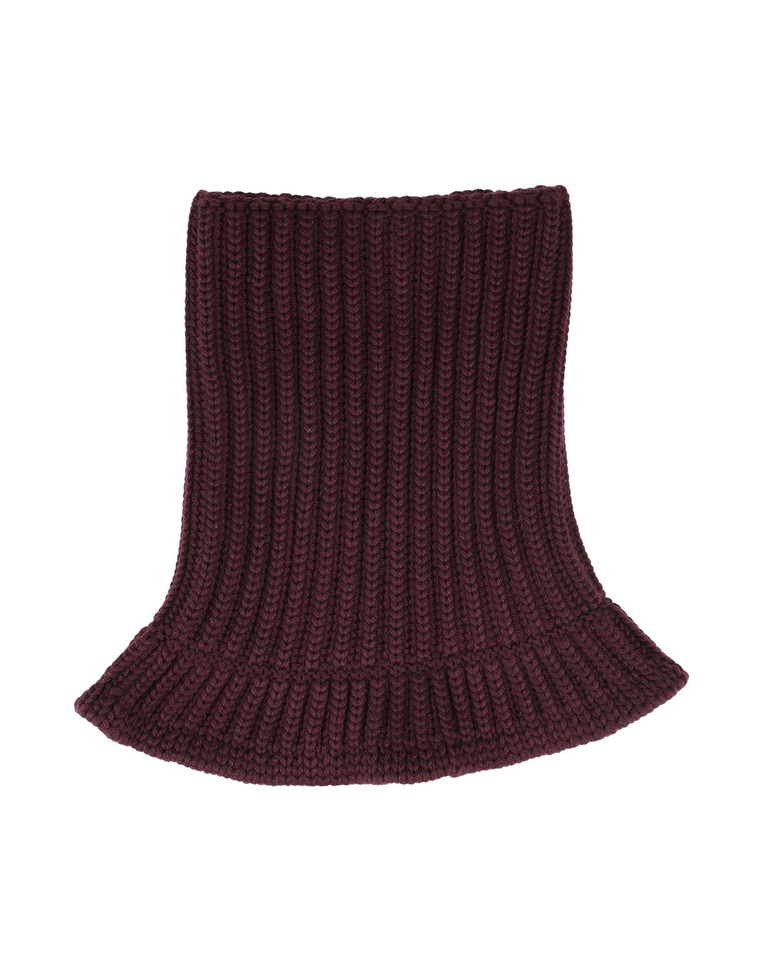 NEIL BARRETT Collars. knitted, no appliqués, basic solid color, medium-weight knit. 50% Merino Wool, 50% Acrylic