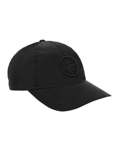 STONE ISLAND 99576 NYLON METAL Cap Man Black USD 183