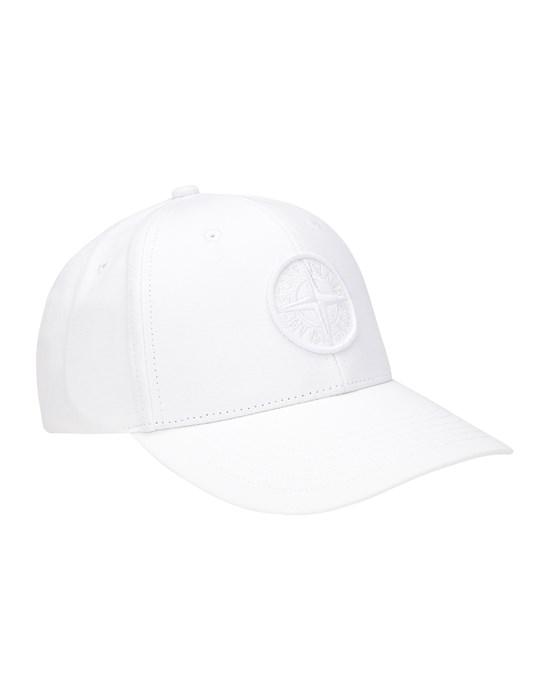 STONE ISLAND 99661 Cap Man White