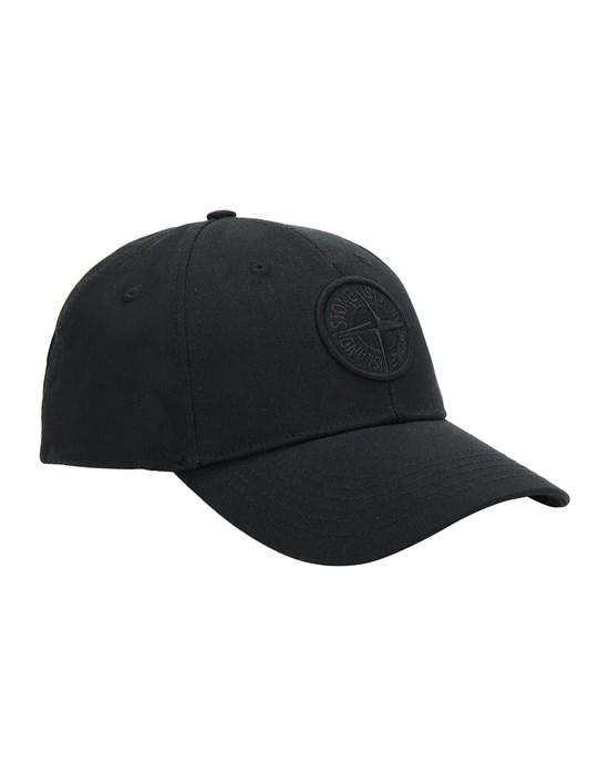 STONE ISLAND 99661 Cap Man Black