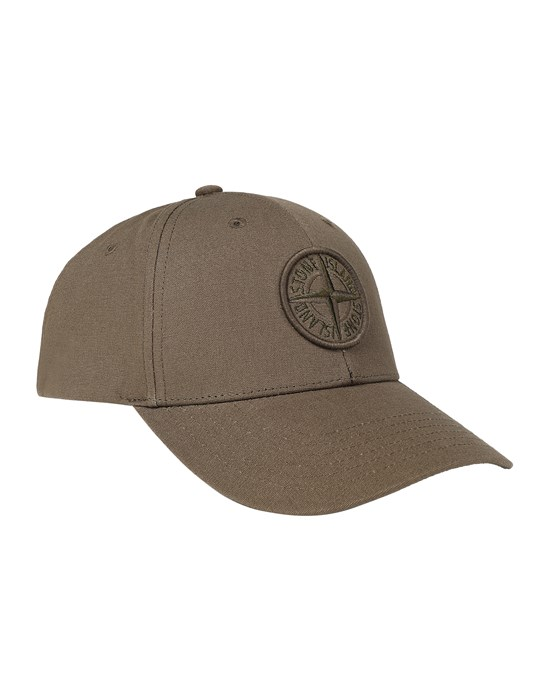 STONE ISLAND 99661 Cap Man Military Green