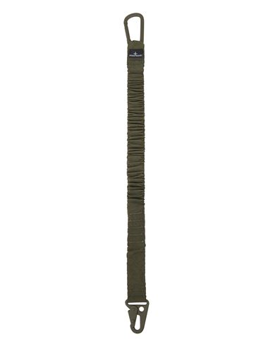 STONE ISLAND 95276 NYLON METAL  钥匙绳 男士 橄榄绿色 EUR 112