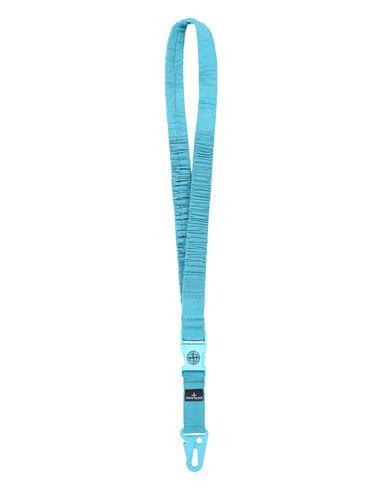 STONE ISLAND 95176 NYLON METAL  LANYARD Man Turquoise EUR 115