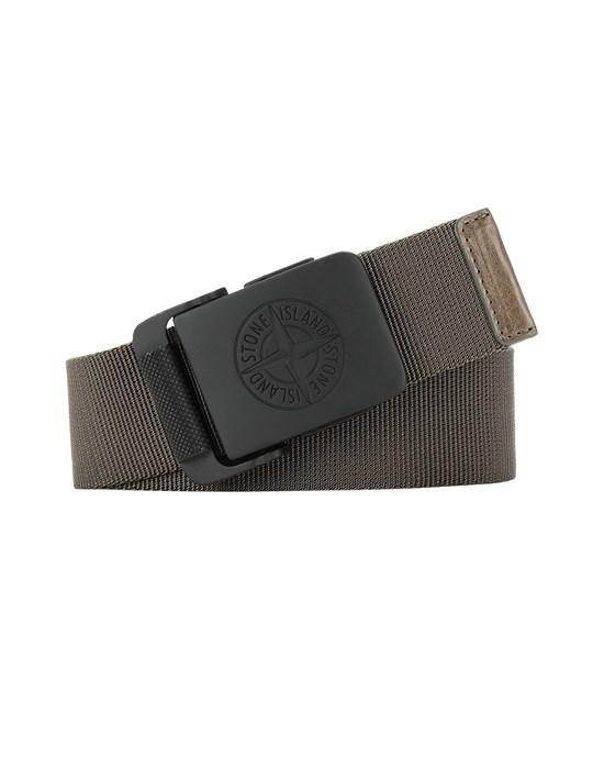 STONE ISLAND 94873 Belt Man Olive Green