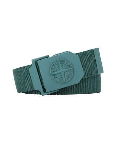 STONE ISLAND 94071 Belt Man Dark Teal Green EUR 119