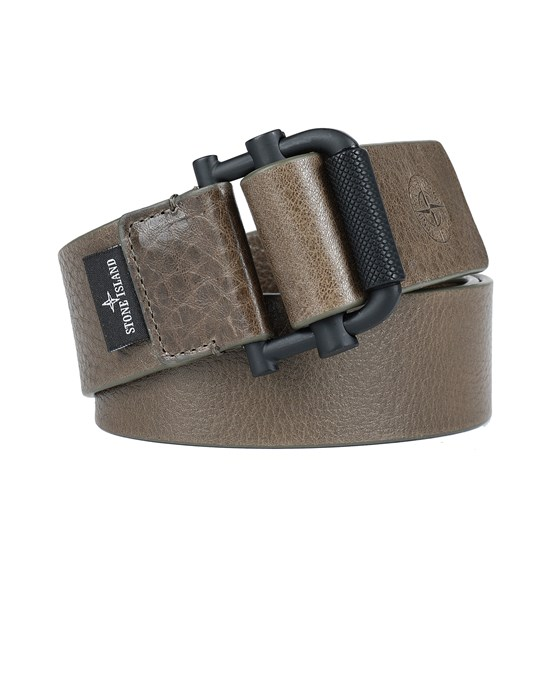 STONE ISLAND 94672 Belt Man Olive Green