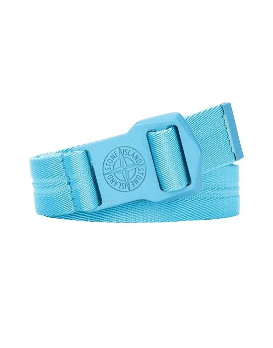 STONE ISLAND 94263 Belt Man Turquoise