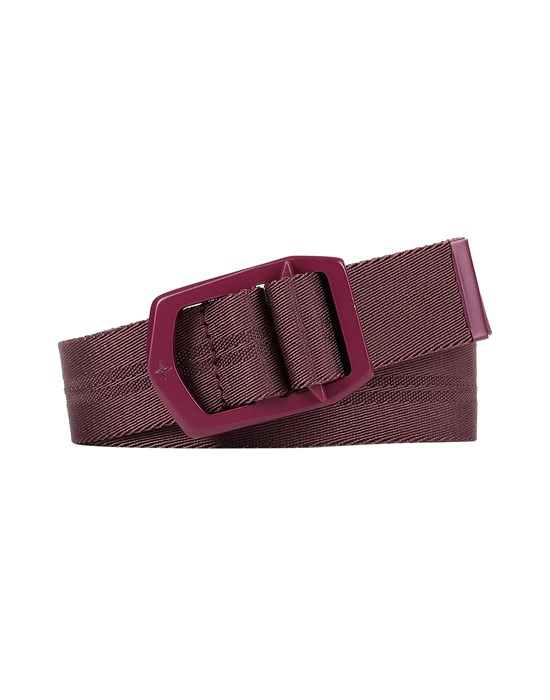 STONE ISLAND 94163 Belt Man Dark Burgundy
