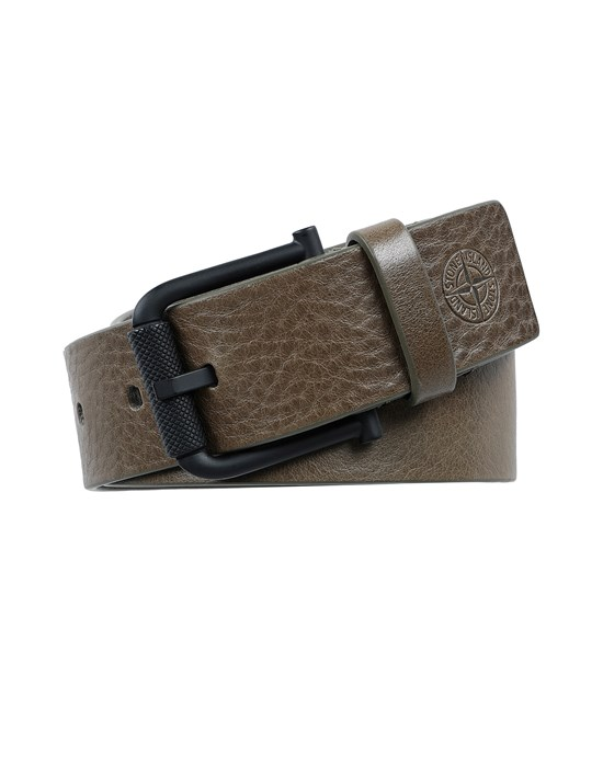 STONE ISLAND 94772 Belt Man Olive Green