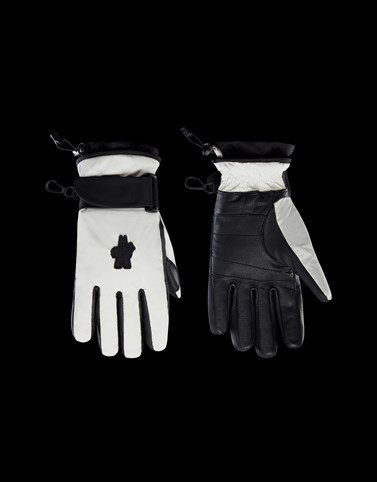 GLOVES White Grenoble Scarves & Gloves Woman