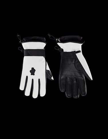 GLOVES White Grenoble Scarves & Gloves Man