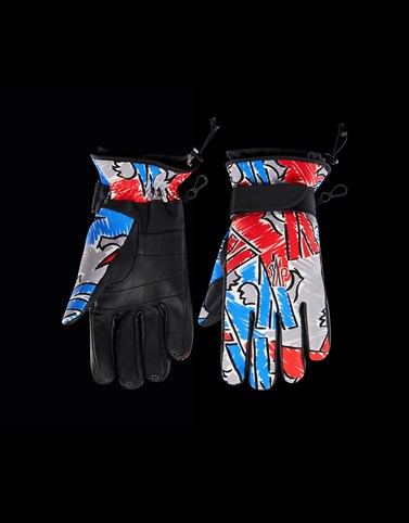 GLOVES Multicolor Grenoble Scarves & Gloves Man