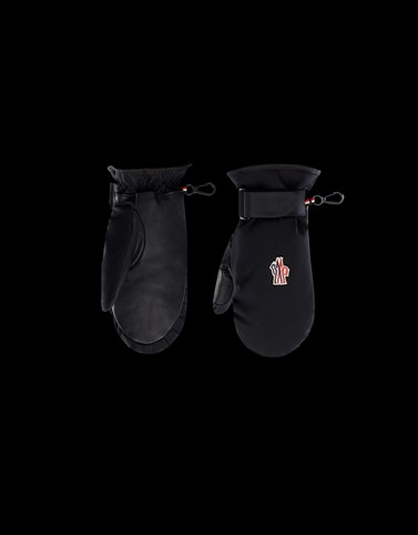 SKI MITTENS Black Grenoble_kids-4-6-years-boy Woman