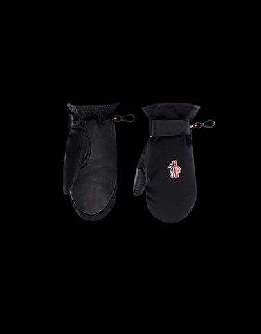 SKI MITTENS Black Grenoble_teen-12-14-years-boy Woman