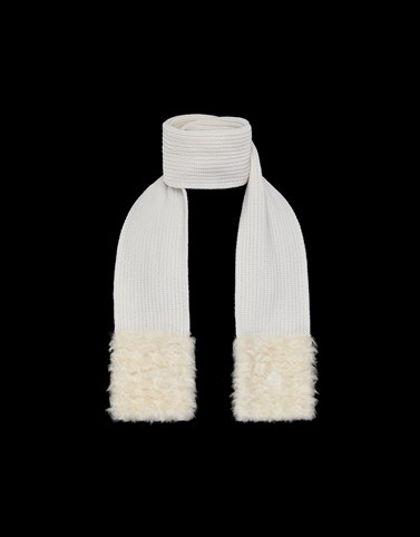 SCARF White Other Accessories Woman